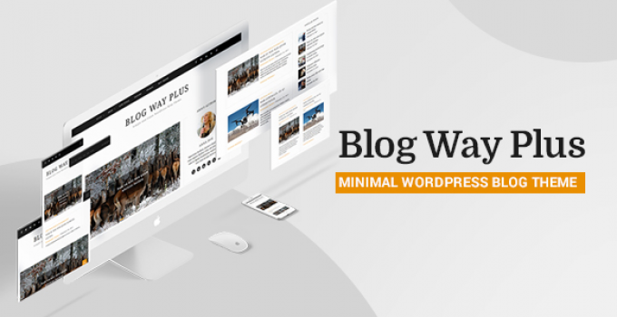 Blog Way Plus - Responsive Blog Theme