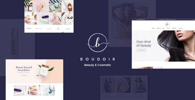 Boudoir - Minimal Cosmetic WooCommerce Theme
