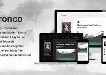 Bronco - Elegant Blogging Theme for WordPress