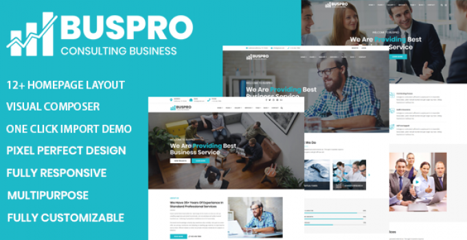 Buspro - Multipurpose Business and Corporate WP Theme