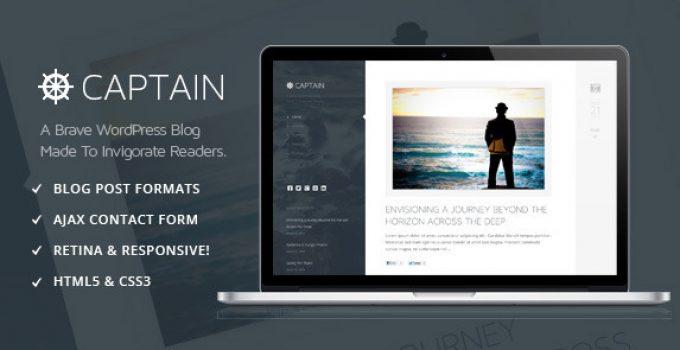 Captain - A Brave & Invigorating WordPress Theme