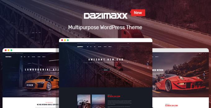 Car Dealer WordPress Theme - Dazimaxx