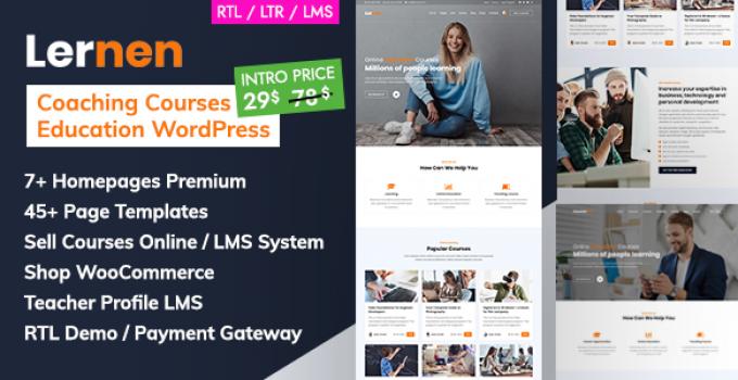 Coaching Online Courses & Education WordPress - Lernen