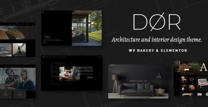 Dør - Modern Architecture and Interior Design Theme
