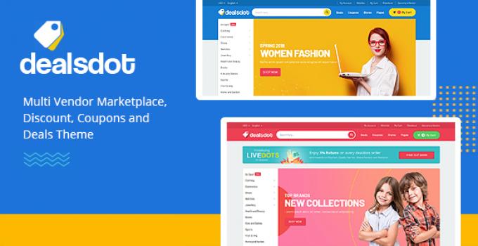 Dealsdot - Multi Vendor Marketplace Theme