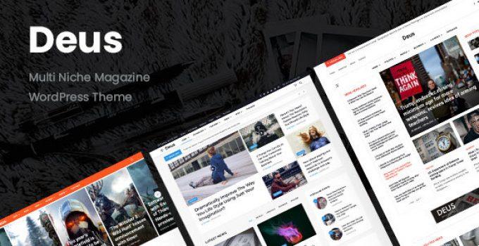Deus   Multi-Niche Newspaper WordPress Magazine