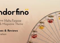 Endorfino - Lifestyle Blog & Magazine WordPress Theme