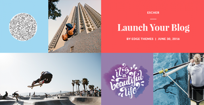 Escher - Blog Theme
