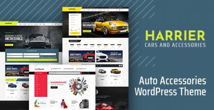 Harrier - Car Dealer and Automotive WordPress Theme