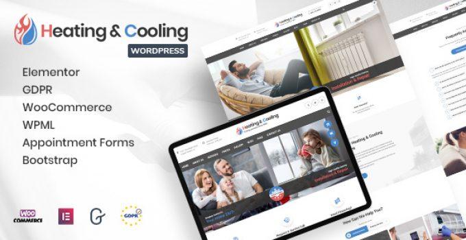 HeaCool - Heating & Air Conditioning WordPress Theme