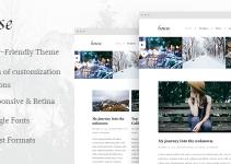 House - Personal Creative Blog Wordpress Theme