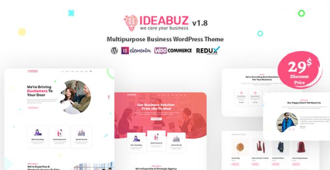 Ideabuz | Multipurpose Business WordPress Theme