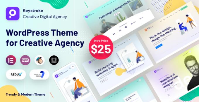 Keystroke - Digital Agency WordPress Theme