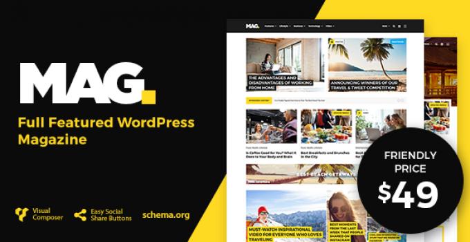 Mag   Full Featured WordPress Magazine