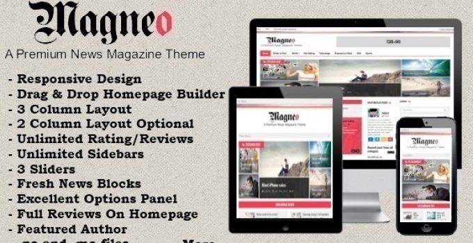 Magneo - Responsive News Magazine Theme