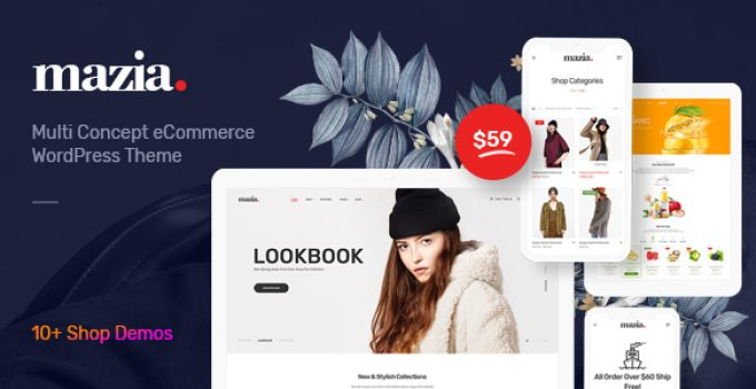 Mazia - Multipurpose WooCommerce Theme