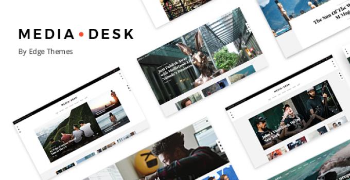 MediaDesk - Magazine WordPress Theme