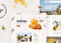 Mellifera - Beekeeping and Honey Shop Theme