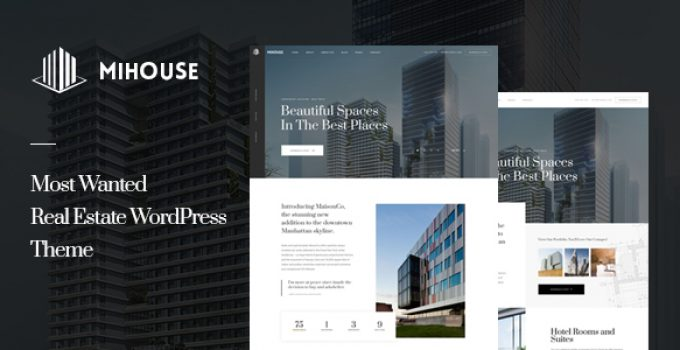 Mihouse – Single Property WordPress Theme