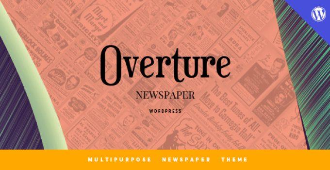 Overture - WordPress Magazine News Theme