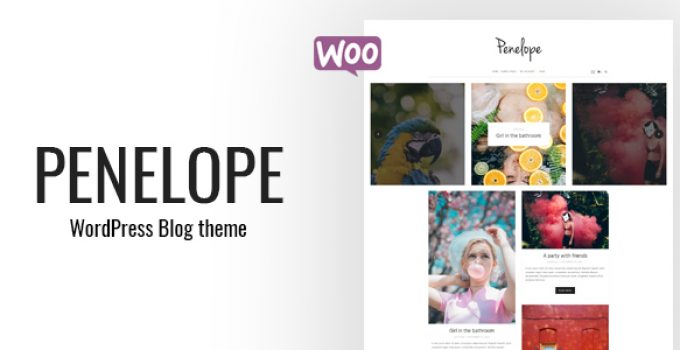 Penelope - A Minimal Blog WordPress Theme
