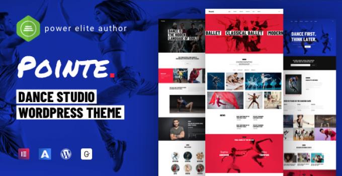 Pointe - Dance Studio WordPress