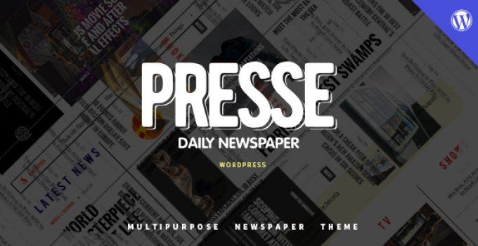 Presse - WordPress Magazine News Theme