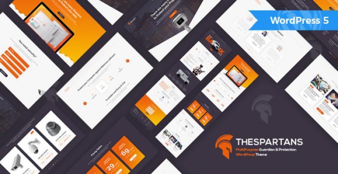TheSpartans - MultiPurpose Guardian & Protection WordPress Theme