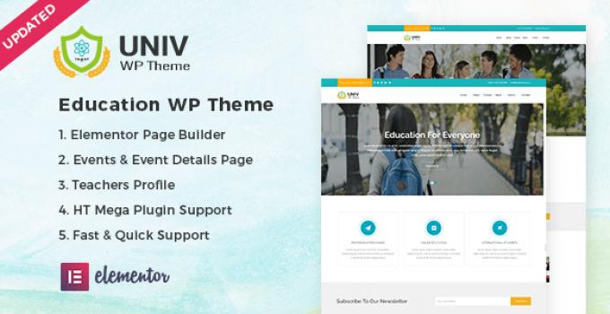 Univ – Education WordPress Theme