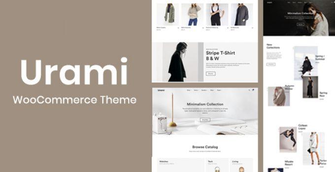 Urami WP - Modern minimalist WooCommerce theme