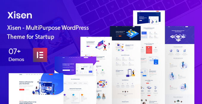 Xisen - MultiPurpose WordPress Theme for Startup
