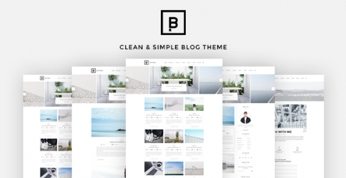 BasicMag - Minimalist Responsive Personal Blog