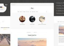 Blogex - Minimal Responsive Wordpress Blog Theme