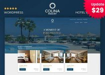 Colina : Resort and Hotel WordPress Theme