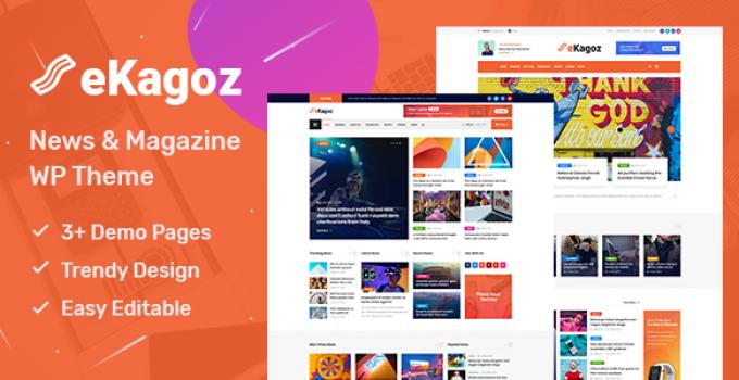 eKagoz - News Magazine WordPress Theme