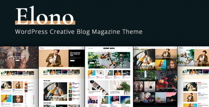 Elono - WordPress Blog Magazine Theme