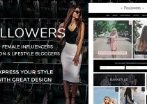Followers - Fashion & Lifestyle WordPress Blog Theme for Social Media Influencers
