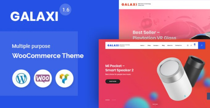 Galaxi - Tech WooCommerce WordPress Theme