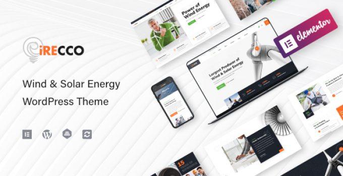 iRecco - Wind & Solar Energy WordPress Theme