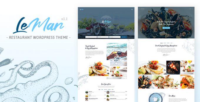 LeMar - Seafood Restaurant WordPress Theme