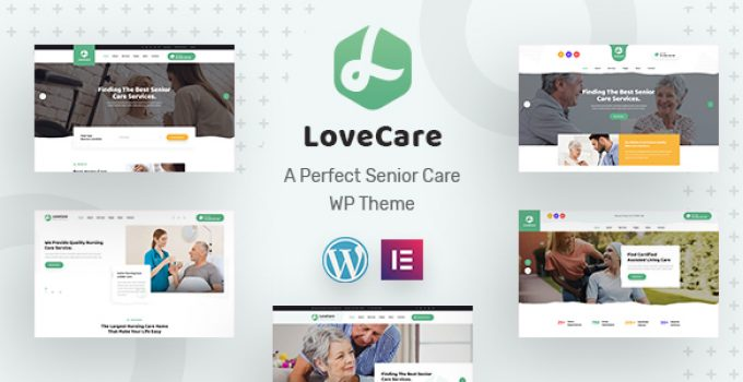Lovecare - Senior Care WordPress Theme