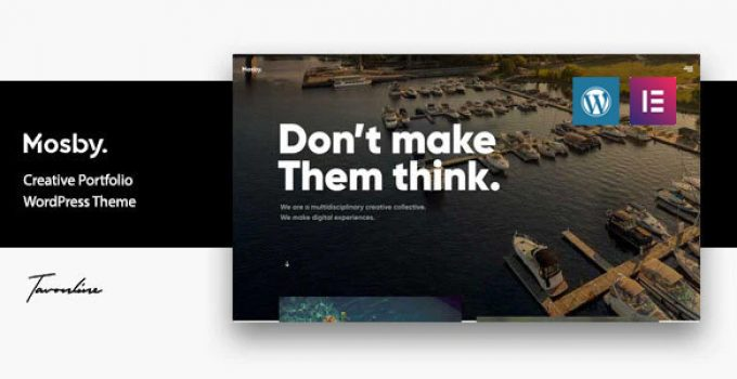 Mosby - Creative Portfolio WordPress Theme