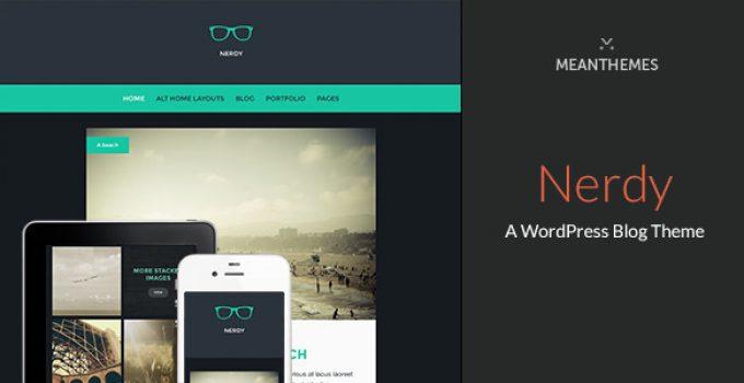 Nerdy: A WordPress Blog Theme