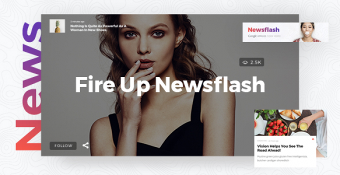 Newsflash - News Theme