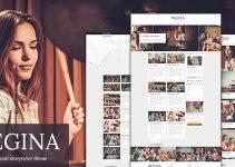 Regina - Creative Blog WordPress