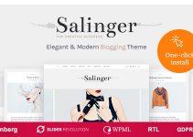 Salinger - Personal Blog & Portfolio WordPress Theme