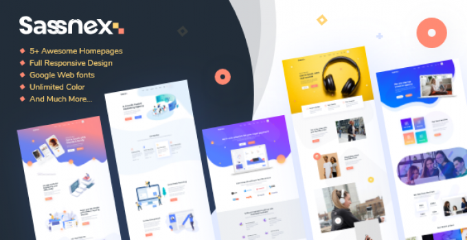Sassnex - Multi-concept WordPress Theme for App, Saas & Startup
