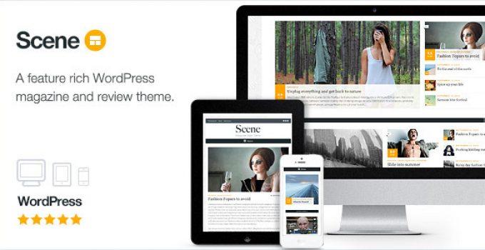 Scene - Magazine Theme for WordPress