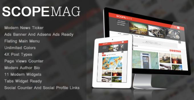 ScoupMag - Smart & Modern Magazine Theme