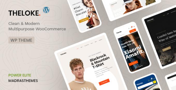 TheLoke - Multi-Purpose & Electronics Store WooCommerce Theme